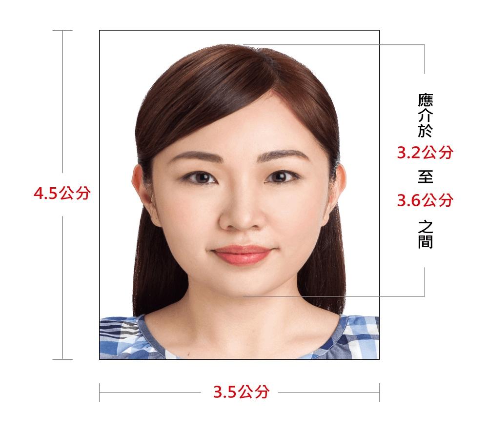 晶片護照照片規格